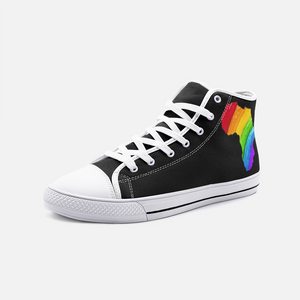 Rainbow Africa High Top Sneakers