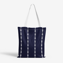 Load image into Gallery viewer, SkullStars Canvas Tote Bag
