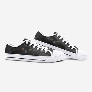 Witch's Black Cat Casual Sneakers
