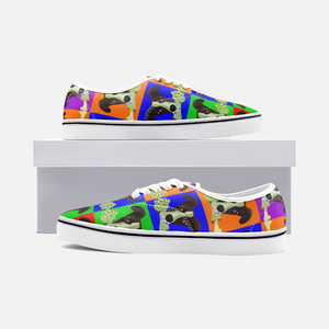 Colorful Cartoon Dog Casual Sneakers