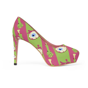 Women's Zombie-licious Platform High Heel Shoes