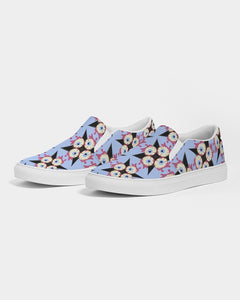 Zombie Eyeballs Men's Slip-On Canvas Shoe