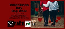 Load image into Gallery viewer, Valentines Day Dog Walk