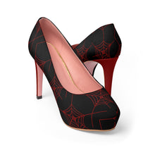 Load image into Gallery viewer, Women's Red Widow Platform High Heel Shoes