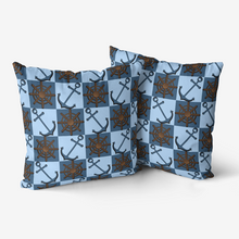 Load image into Gallery viewer, Decorative Nautical Throw Pillow
