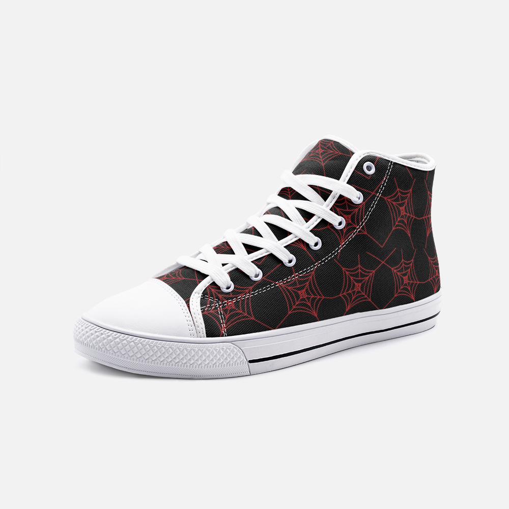 Red Widow High Top Sneakers