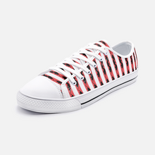 Load image into Gallery viewer, Red Striped Bat Casual Sneakers