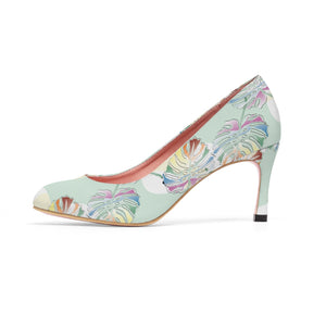 Monstera Medium-High Heel Shoes