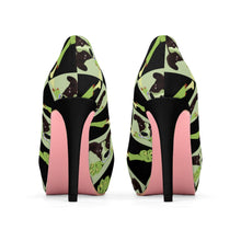 Load image into Gallery viewer, Women's Cartoon Zombie Dog Platform High Heel Shoes