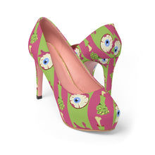 Load image into Gallery viewer, Women's Zombie-licious Platform High Heel Shoes