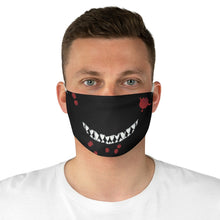 Load image into Gallery viewer, Toothy Grin Fabric Face Mask