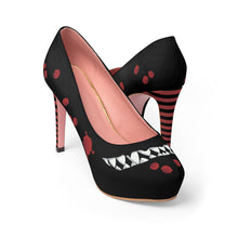 Load image into Gallery viewer, Women's Toothy Grin Platform High Heel Shoes
