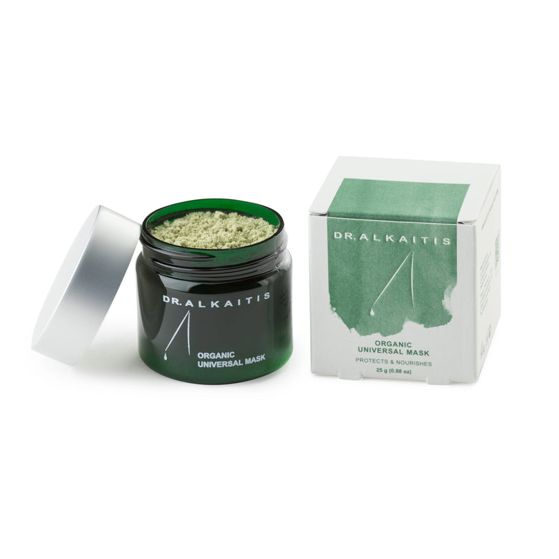 Dr. Alkaitis Organic Universal face mask is perfect to calm irritated and sensitive skin.