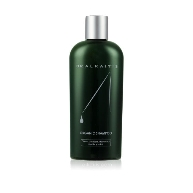Dr. Alkaitis Organic Herbal Shampoo for men and women is suitable for all hair types.