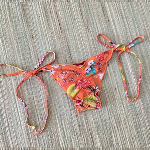 Cali Ripple Side Tie Bikini Bottom