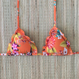 Cali Ripple Triangle Bikini Top