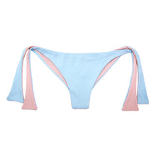 Load image into Gallery viewer, Rain Blue Lili Side Tie Bikini Bottom