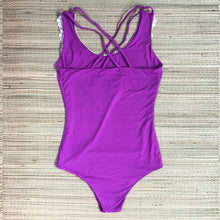 Load image into Gallery viewer, Floripa Purple One Piece Lace Bodysuit