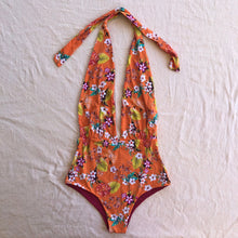 Load image into Gallery viewer, Cali Halter One Piece Bodysuit