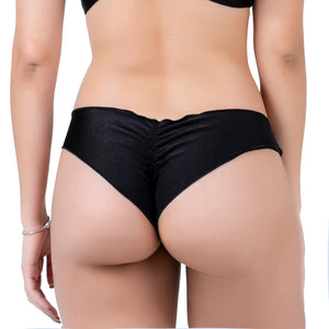 Black Lili Ripple Bottom