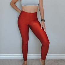 Load image into Gallery viewer, Copper High Waisted Legging