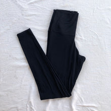 Load image into Gallery viewer, Ribbed Black Legging Loungewear