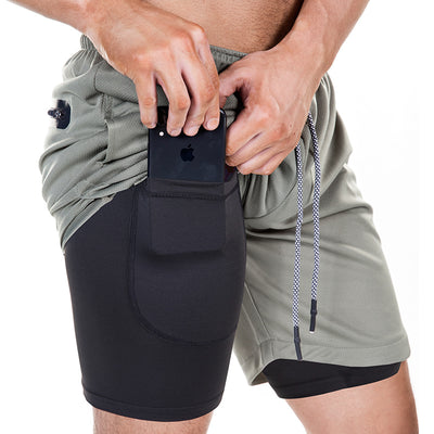 FORM 2-in-1 Secure Training Shorts with Long Inner Lining - rockabilly.store