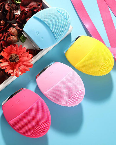 Facial Cleansing Brush, Exfoliating Face Brush - rockabilly.store