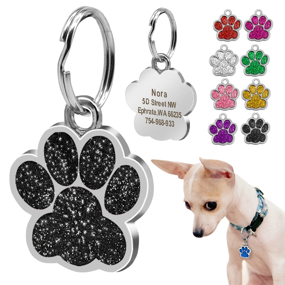 Dog ID Tag Personalized for Small Dogs