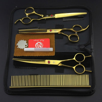 Cat Dog Scissors High Quality Thinning Shears Comb Hair Cutting Tool - rockabilly.store