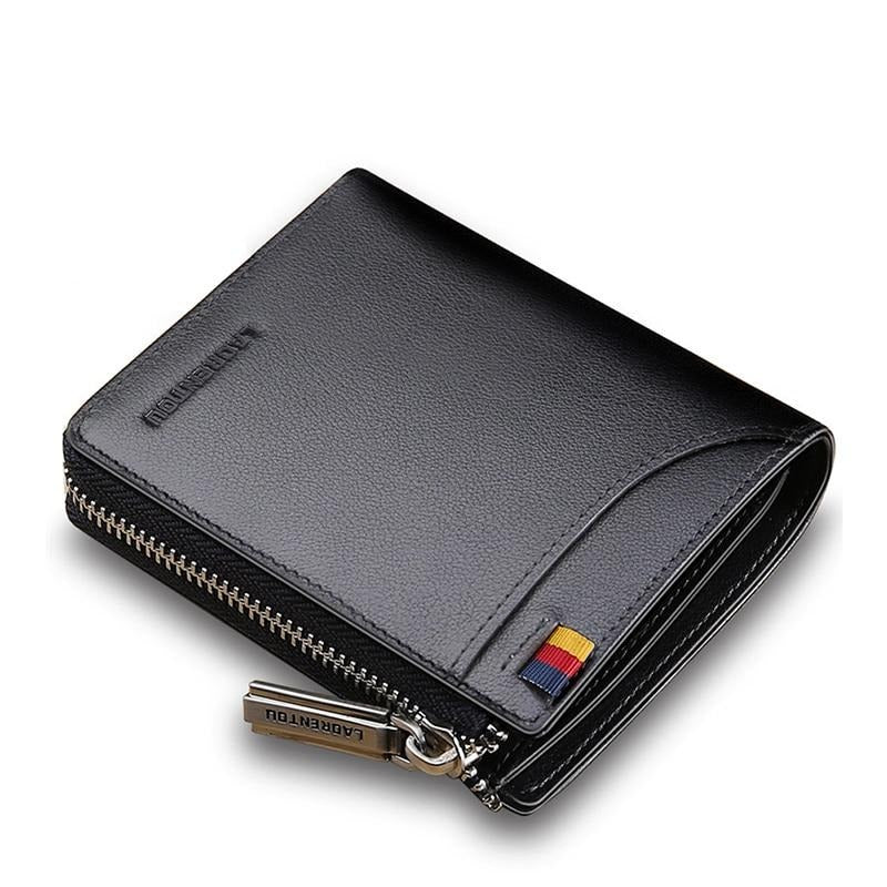 Card Holder Zipper Wallets for Male - rockabilly.store