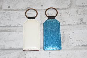 Glitter Rectangle Keychains for sublimation blank-Sublimation Blank-Elliott Creations