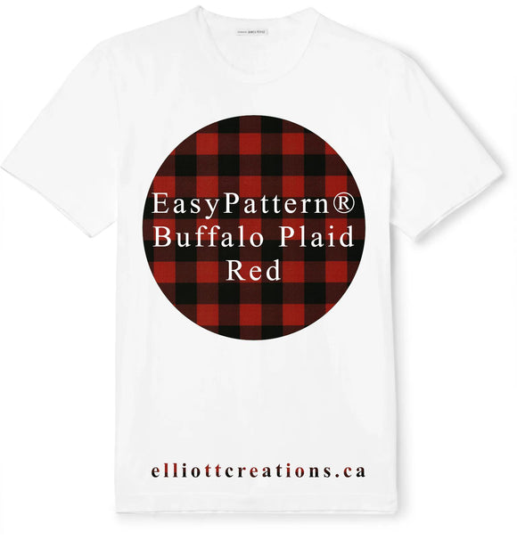 Buffalo Plaid Red - Siser EasyPatterns® HTV-HTV-Elliott Creations