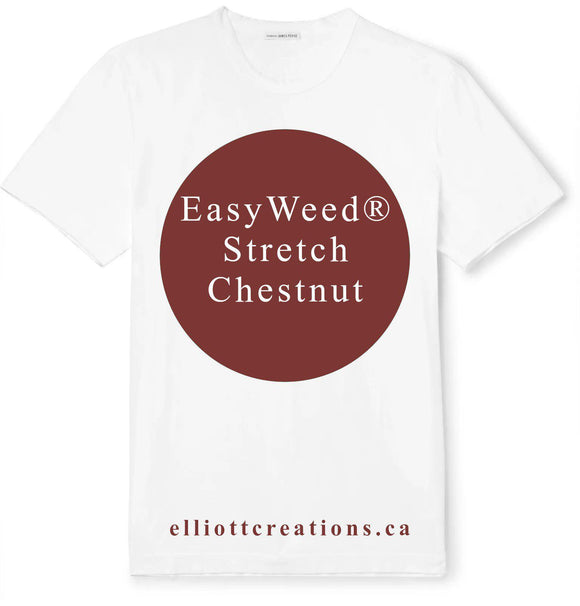 Chestnut - Siser EasyWeed® Stretch HTV-HTV-Elliott Creations