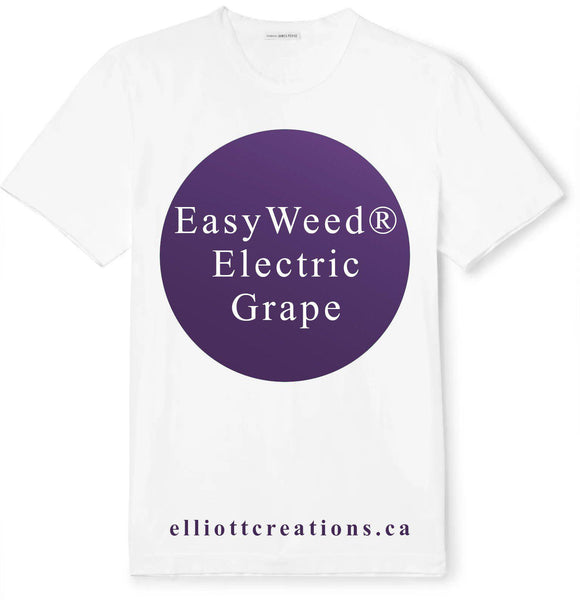 Grape - Siser EasyWeed Electric HTV-HTV-Elliott Creations