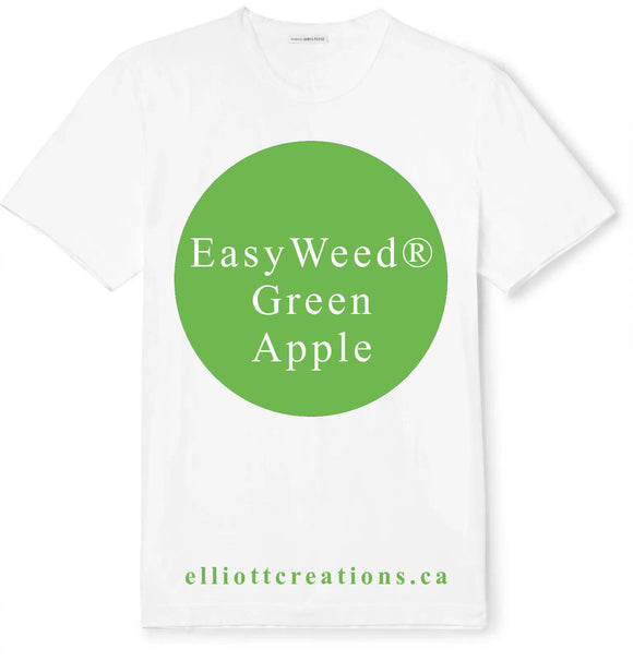 Green Apple - Siser EasyWeed® HTV-HTV-Elliott Creations