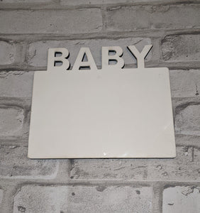 Baby MDF Photo Board