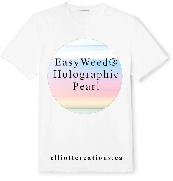 Pearl - Siser Holographic HTV Yards-HTV-Elliott Creations