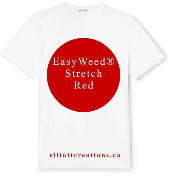 Red - Siser EasyWeed® Stretch HTV-HTV-Elliott Creations