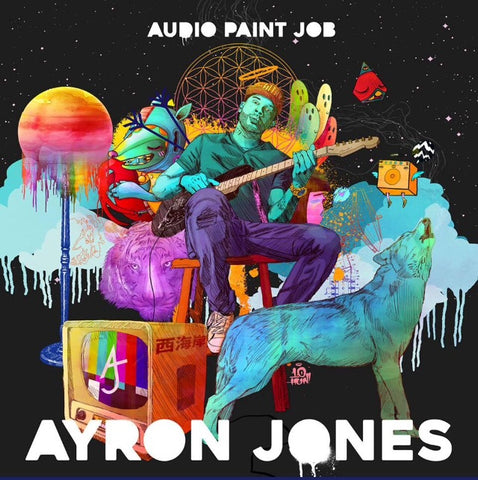 Audio paint job signed copy