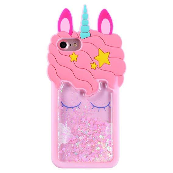 3D Unicorn Elegant Design TPU coque