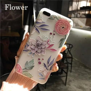 3D Unicorn Flamingo Flower Phone coque