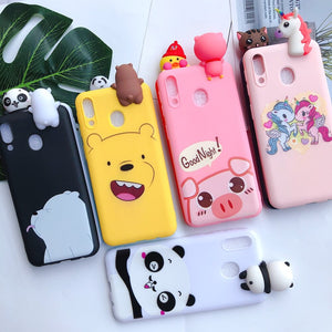 A30 A50 coque A10 A40 A70 Kawaii Bear