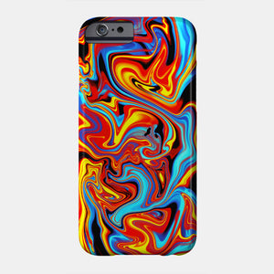 Abstract Liquid - Phone coque