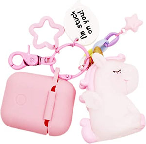 AirPods coque coque Silicone Unicorn
