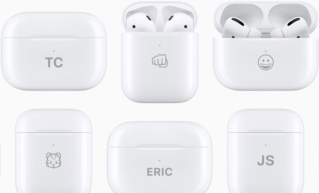 AirPods Charging coques to Be Engraved