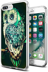 Apple iPhone 7 8 coque Clear Owl