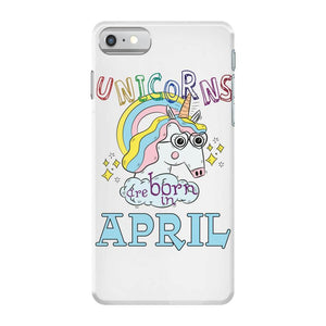 April Cute Unicorn Iphone 7 coque