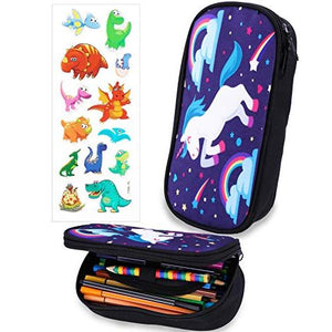 BeYumi Cute Galaxy Unicorn Pencil coque