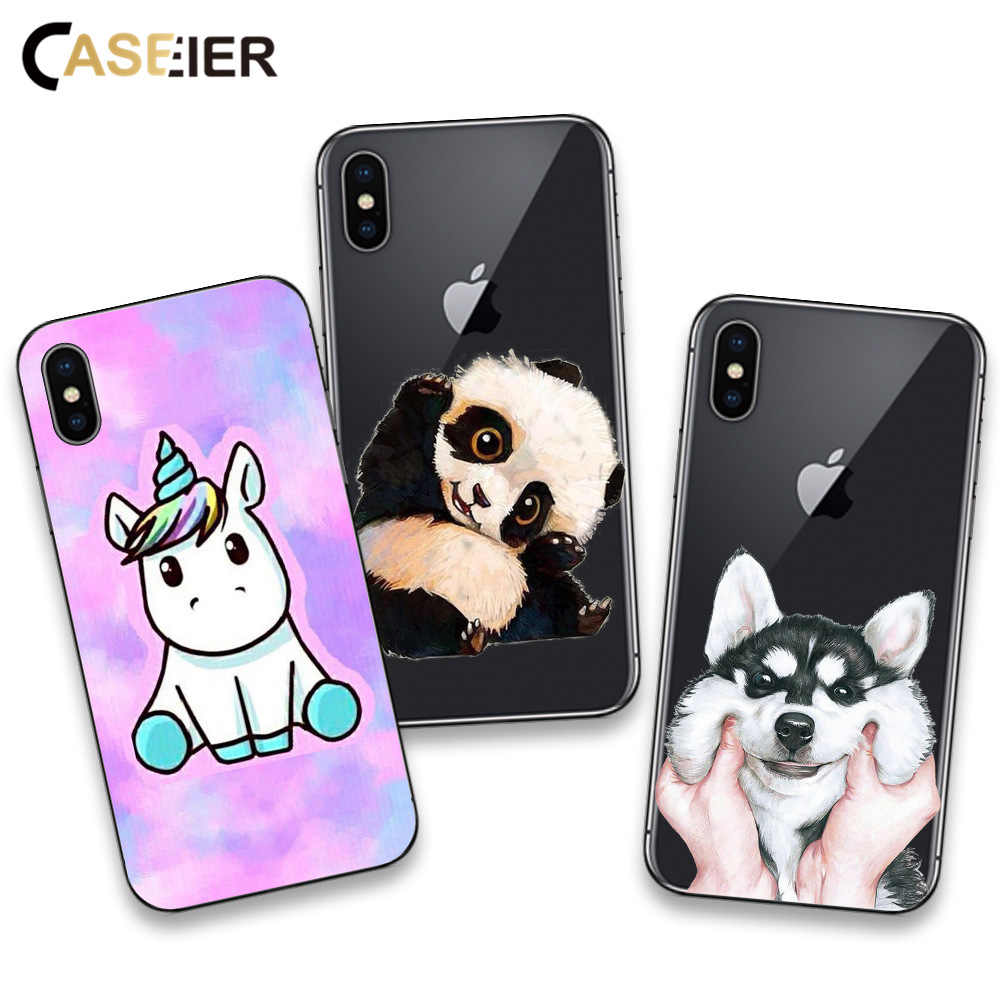 coqueIER Cute Unicorn coque For IPhone 6s